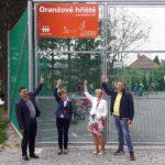 Otevření Oranžového hřiště Nadace ČEZ